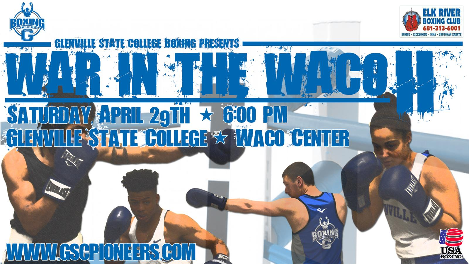 War in the Waco II Set for April 29th - Glenville State Pioneers